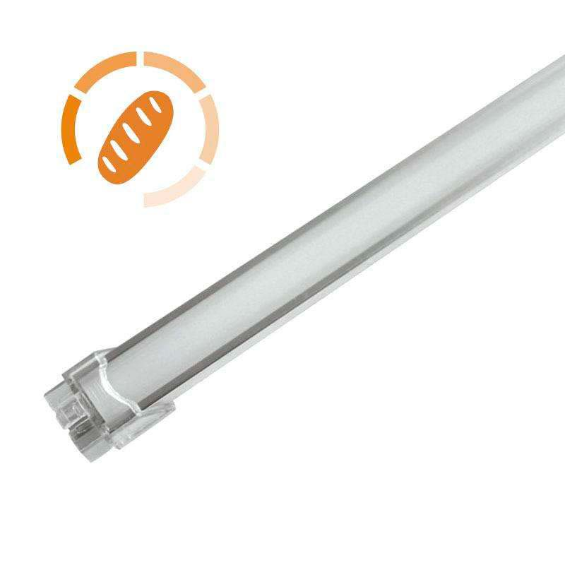 Barra LED Profresh, 18W, 116cm, Pan y repostería, Blanco cálido